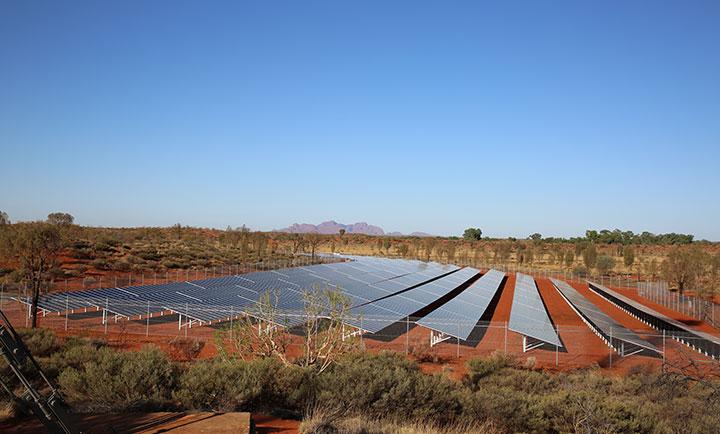 Tjintu solar field